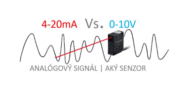 Analógový signál: 0 to 10V  ALEBO  4-20 mA