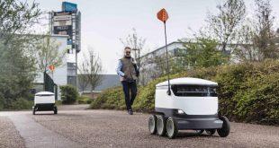 Doručovacie roboty firmy Starship Technologies