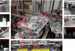 Kontrola centrovacích kolíkov na prevodovkovej skrini a poškodenia spojkovej skrine