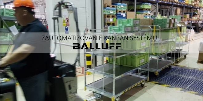 DATAMATRIX brána – Zautomatizovanie KANBAN systému