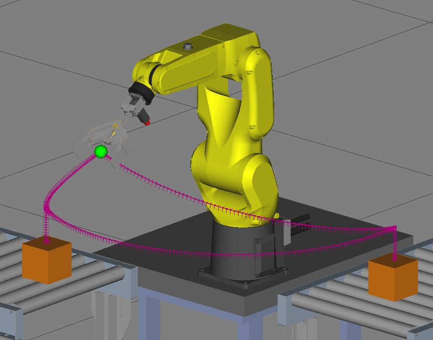 programovanie robotov Fanuc Off-line programovanie
