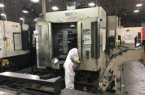 CNC údržba