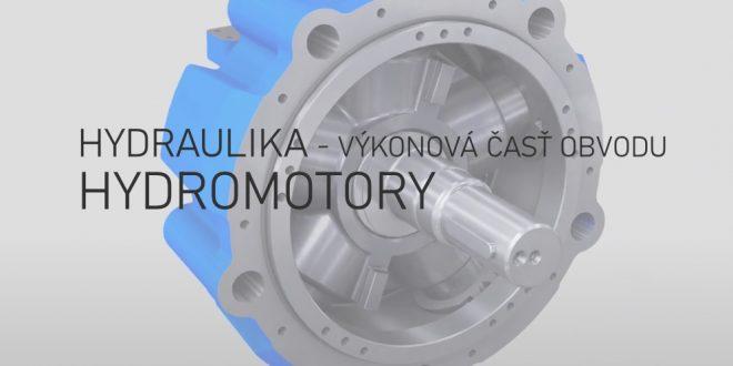06 Hydraulika | Výkonová časť obvodu – hydromotory