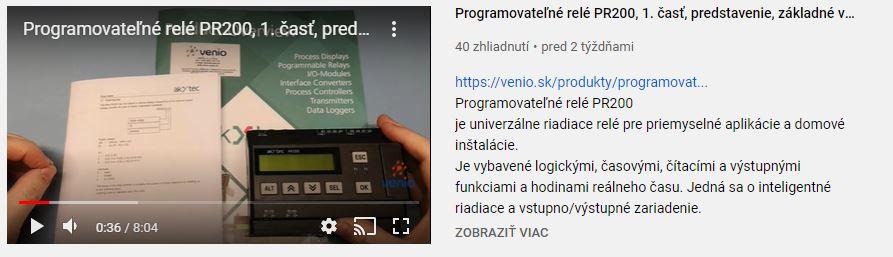 youtube VENIO kanál