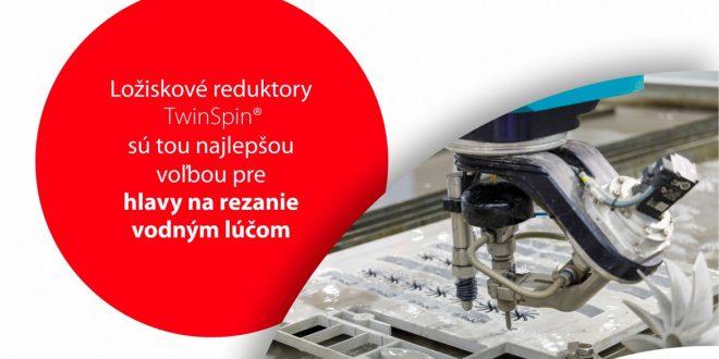 Prevodovky pre rezacie hlavy do strojov na rezanie vodným lúčom