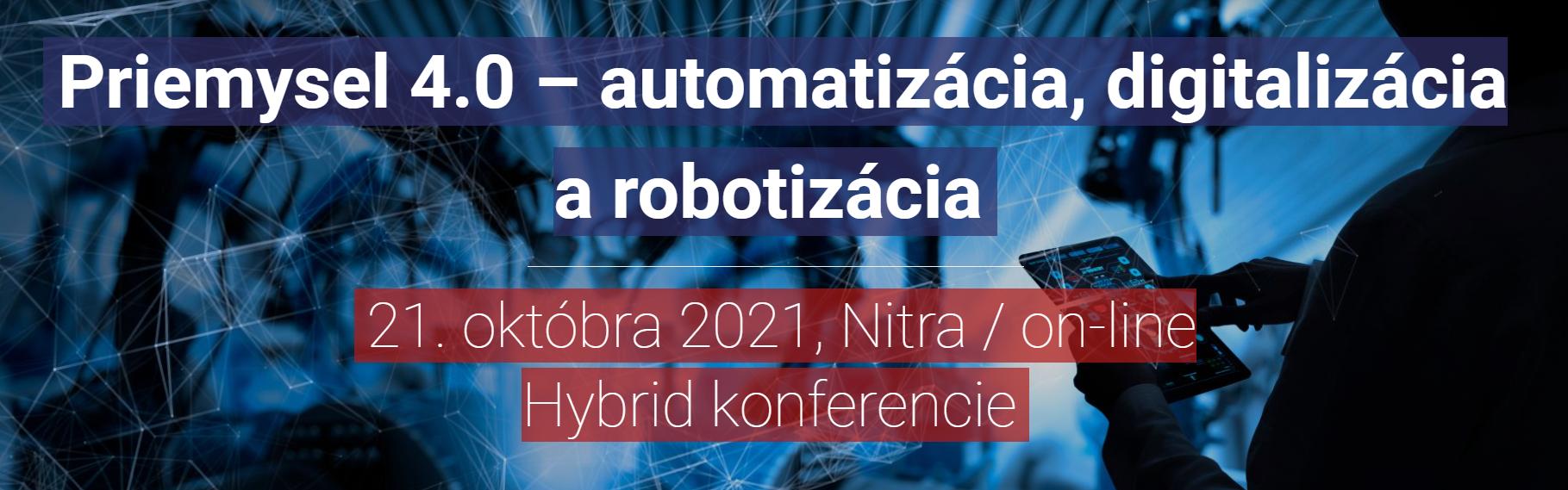 konferencia priemysel 4.0